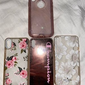 4 phone cases *will sell separate*